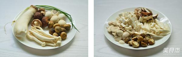 孜然菌菇煲的做法大全