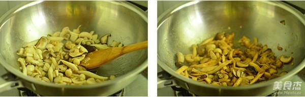 孜然菌菇煲的简单做法