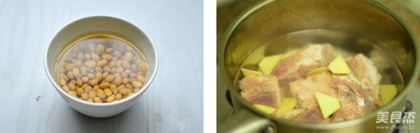 黄豆猪骨汤的做法大全