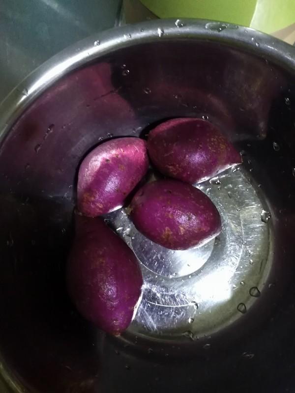 紫薯包的做法大全