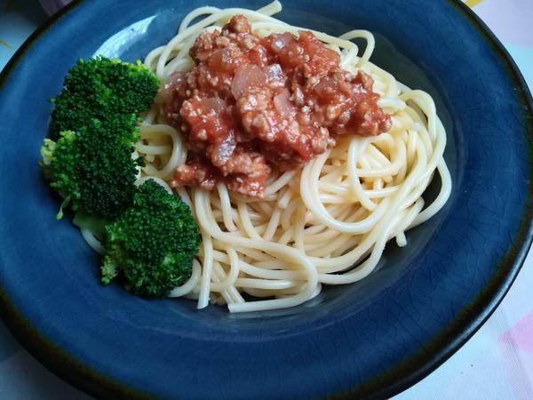 网红番茄肉酱意面的制作
