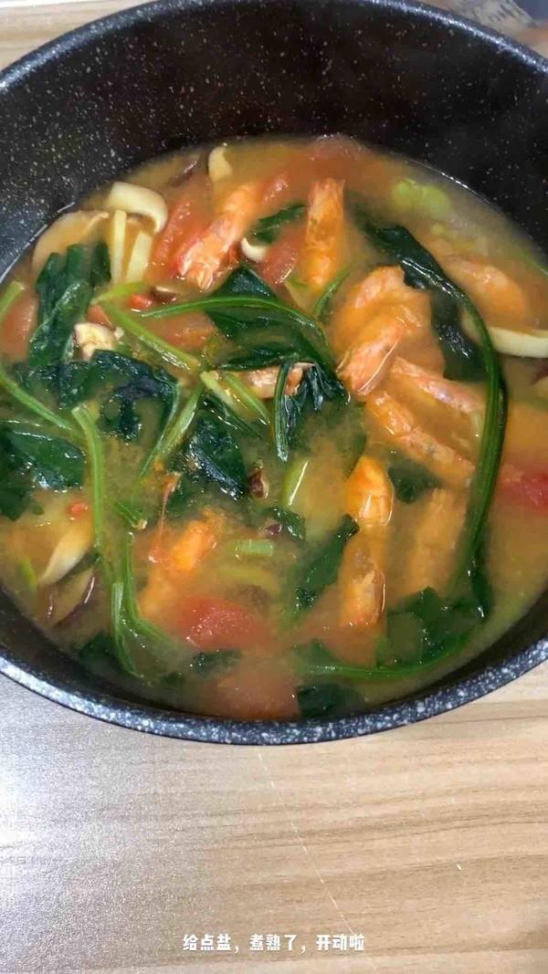 咖喱基围虾汤怎样做
