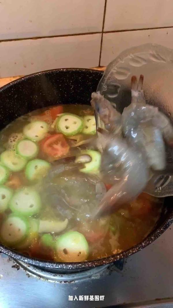咖喱基围虾汤怎么煸
