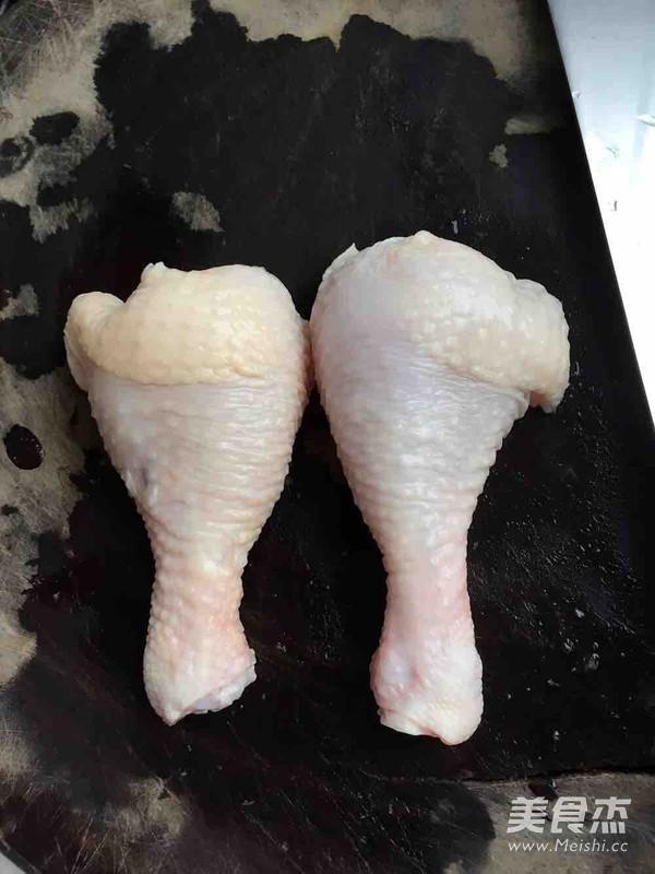 胡萝卜香菇焖鸡腿饭的做法图解