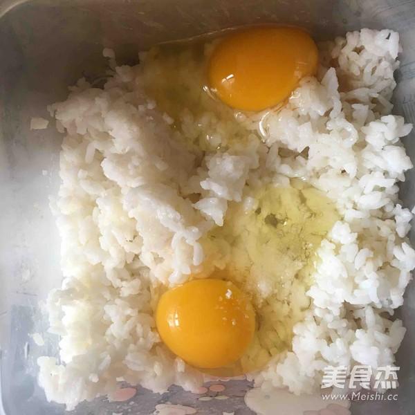 蛋香大米饼的做法大全