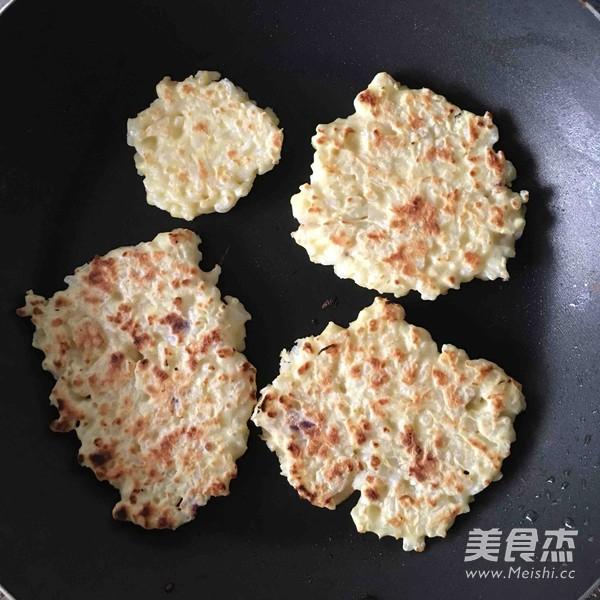 蛋香大米饼怎么吃