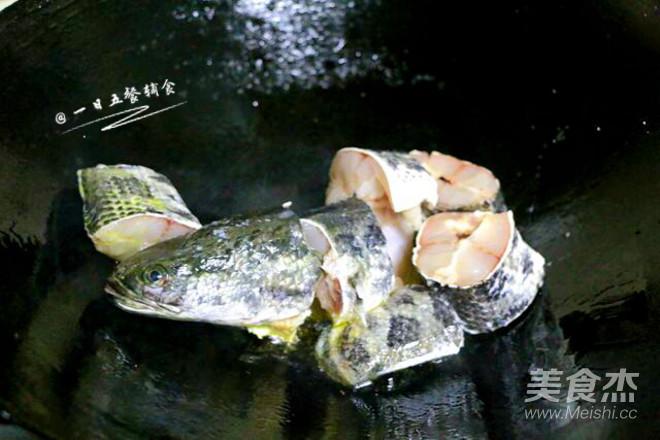 黑鱼青菜汤的做法图解