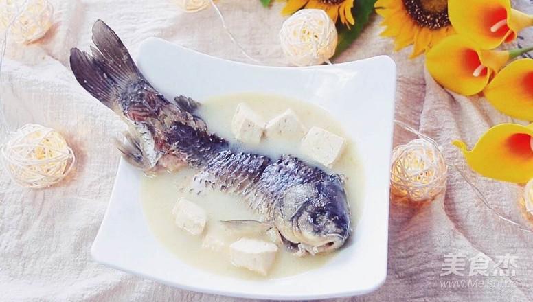 奶白鲫鱼豆腐汤怎么炒