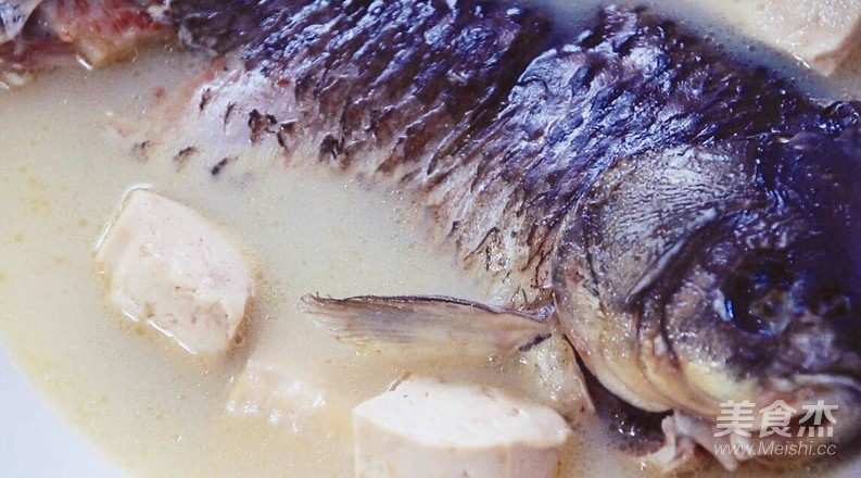 奶白鲫鱼豆腐汤怎么炖