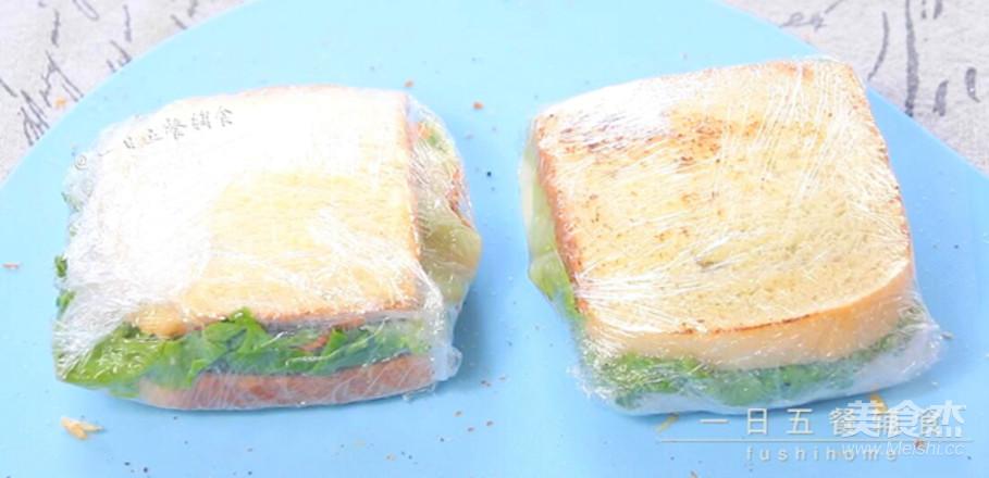 牛油果鸡蛋火腿三明治怎样煸