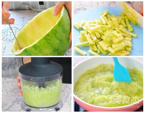 西瓜皮酱的简单做法