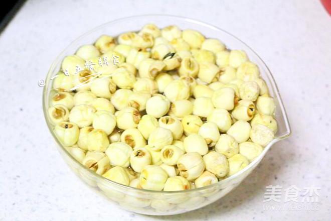 纯莲蓉馅 宝宝辅食,莲子+白砂糖+植物油的做法大全