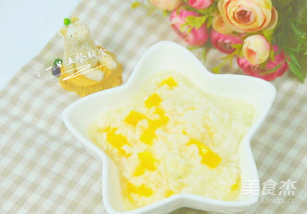 山药黄椒米粥/糊 宝宝辅食,大米+小芭蕉怎么做