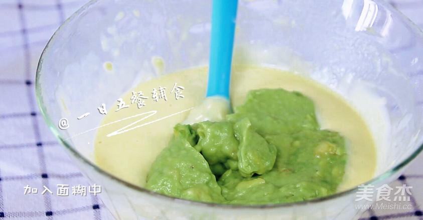 牛油果香蕉松饼 宝宝辅食,低筋面粉+牛油果+香蕉+蛋黄怎么炒