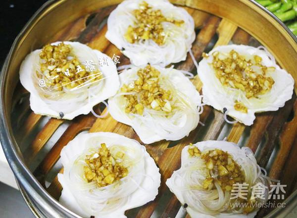 蒜蓉粉丝蒸扇贝 宝宝辅食,鲜香美味的简单做法