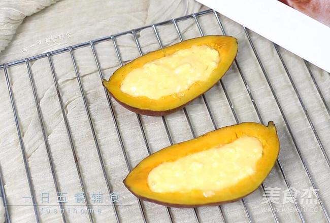 奶酪焗红薯怎么做