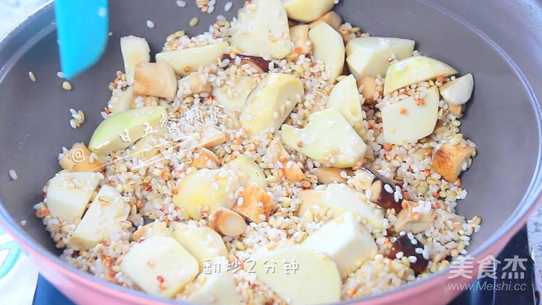 香菇芋头饭怎么做
