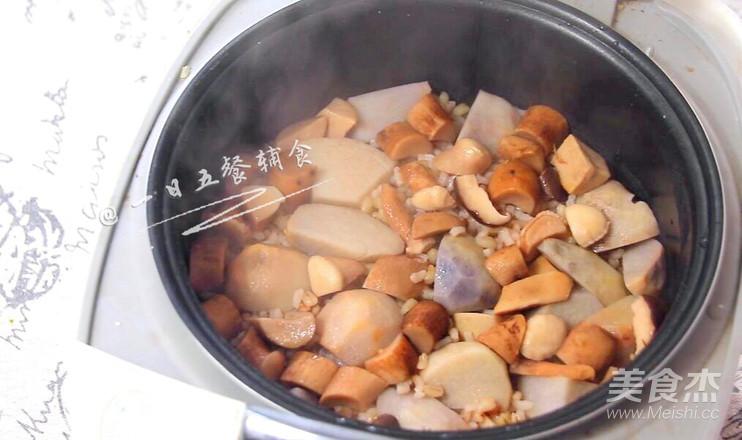 香菇芋头饭怎么煮
