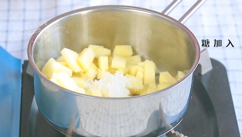 吐司苹果派的家常做法