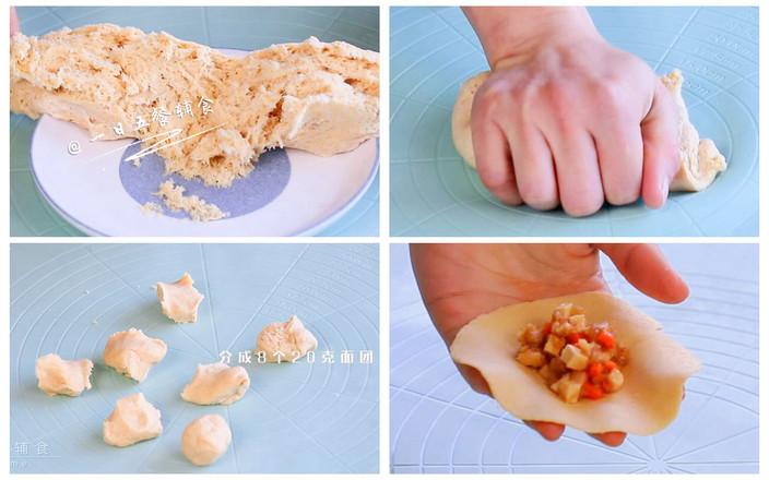 杂蔬鱼肉生煎包怎么吃