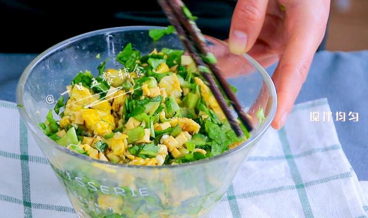 树叶蒸饺怎么做
