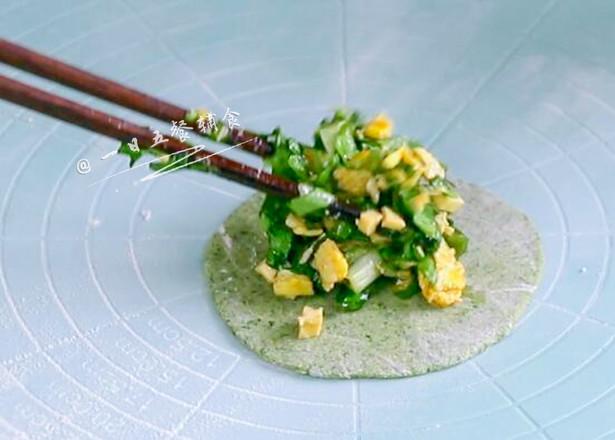 树叶蒸饺怎么炒