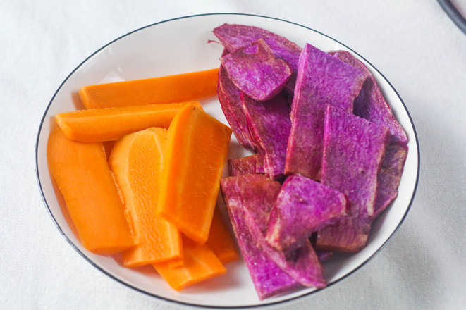 胡萝卜山药发糕的做法图解