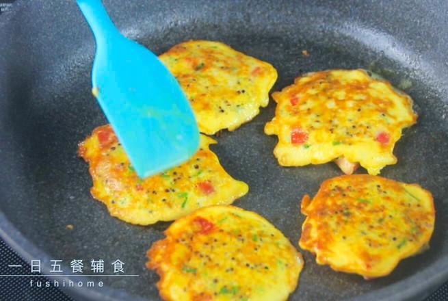 蔬菜藜麦蛋饼——宝宝辅食的简单做法