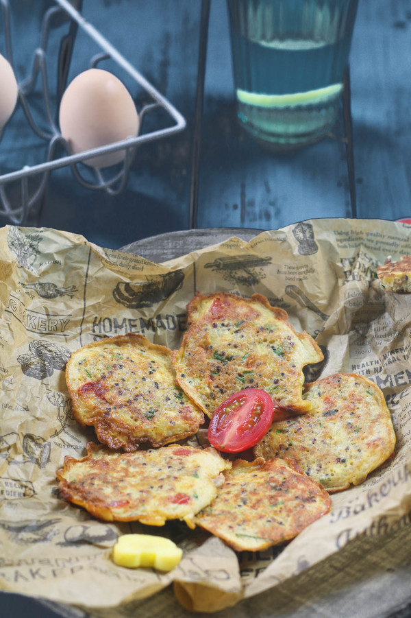 蔬菜藜麦蛋饼——宝宝辅食怎么吃
