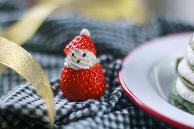 菠菜厚松饼圣诞树——宝宝辅食怎么煮