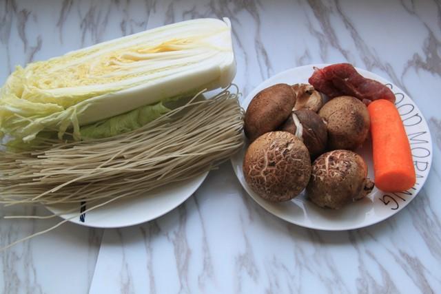 香菇炖白菜的做法大全