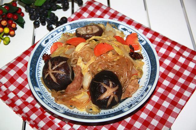香菇炖白菜怎样炒