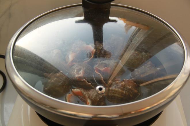 盐水煮海螺的家常做法
