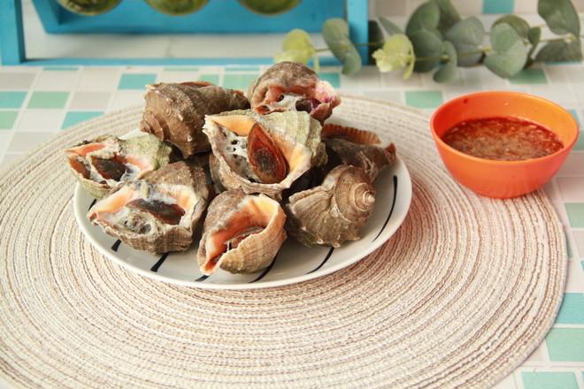 盐水煮海螺怎么做