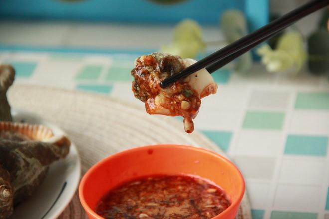 盐水煮海螺怎么煸