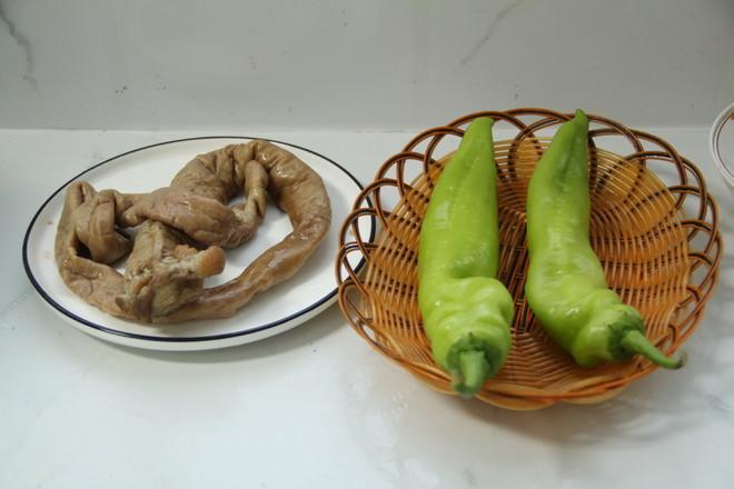 青椒炒猪大肠的做法大全
