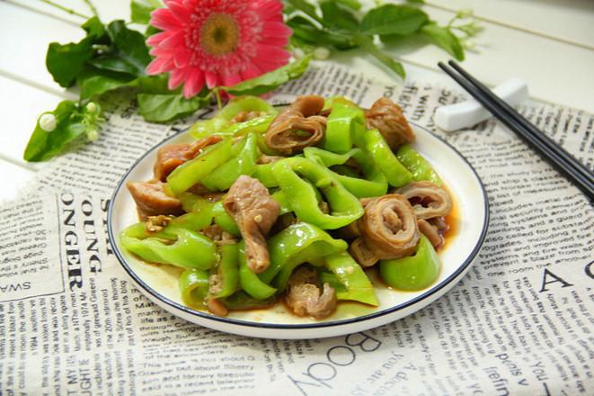 青椒炒猪大肠怎么煮