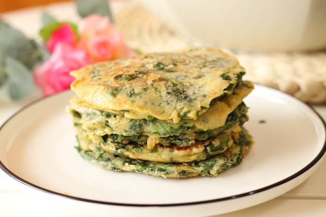 芹菜叶鸡蛋早餐饼怎样做