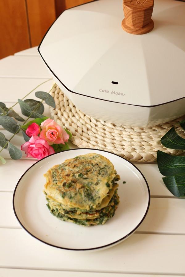 芹菜叶鸡蛋早餐饼怎样炒