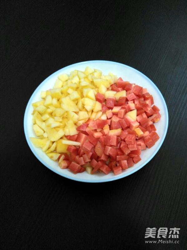 胡萝卜苹果汁的家常做法