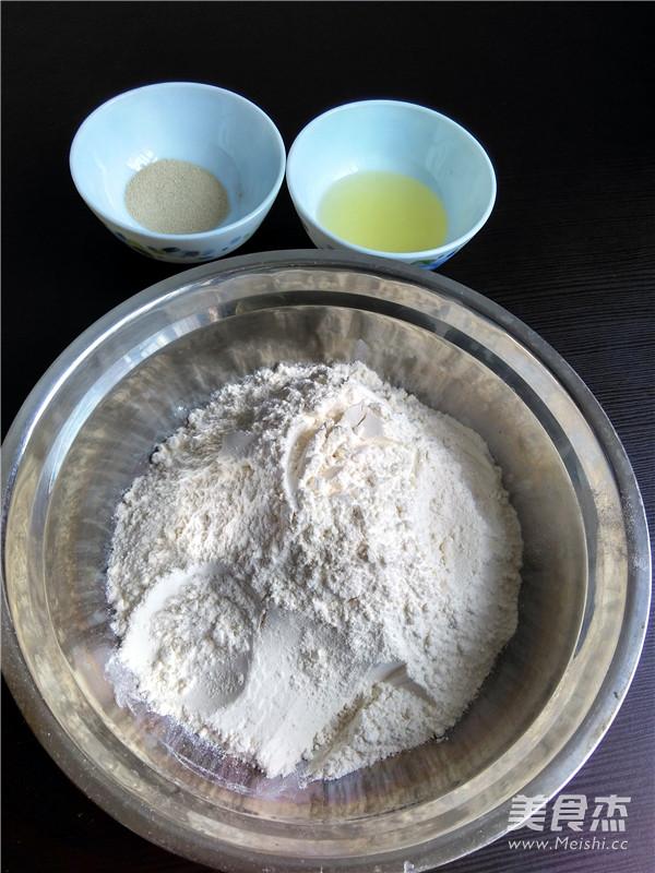 清水白面包的做法大全