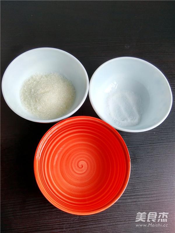 清水白面包的做法图解