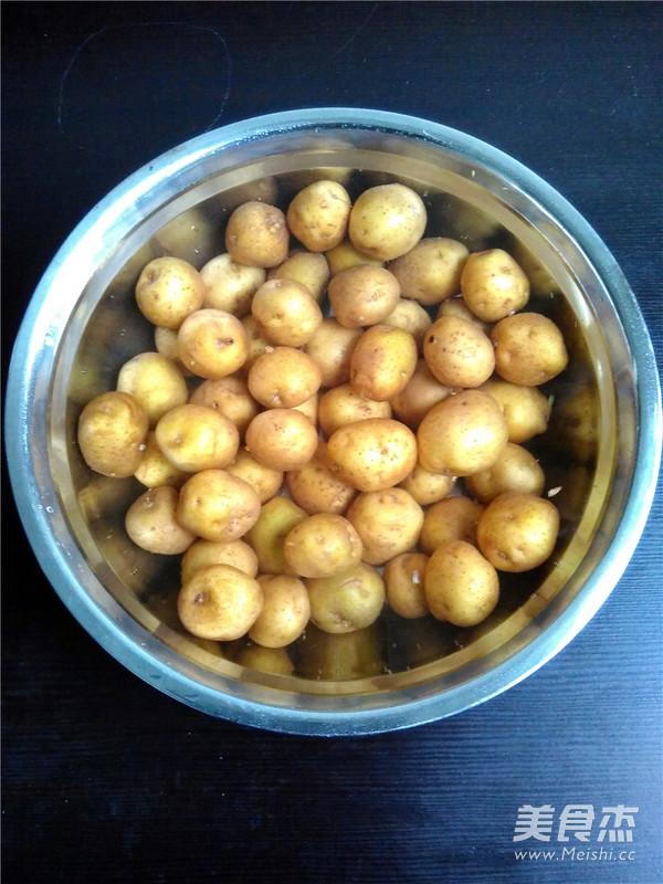 格琳诺儿香辣小土豆的做法大全
