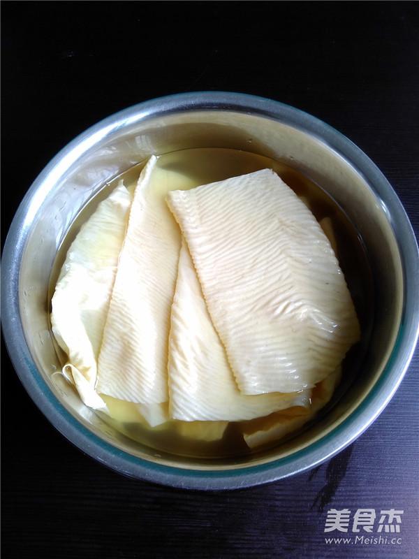 凉拌豆腐皮怎么吃