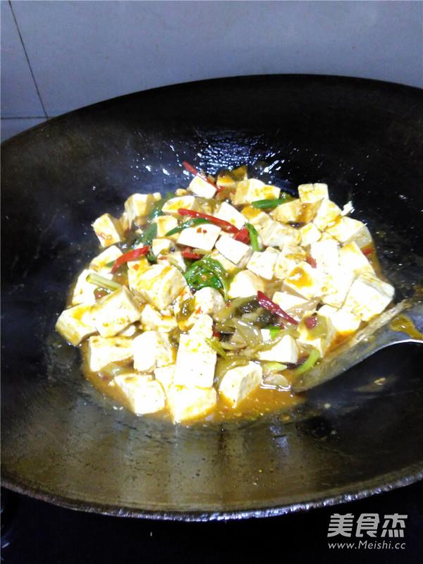 泡菜渡豆腐怎么煸