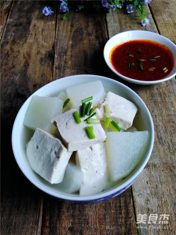 萝卜豆腐汤怎么煮