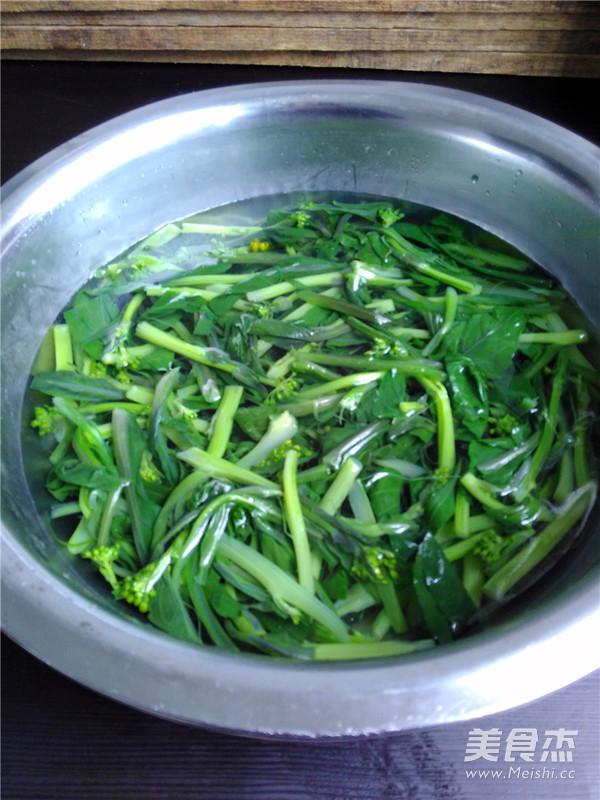清炒红油菜怎么吃