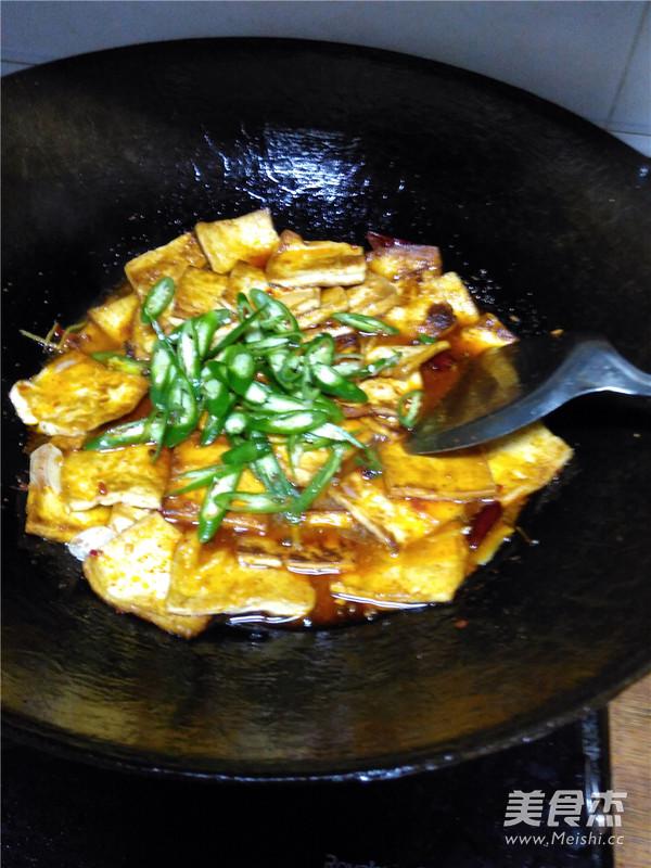 香煎豆腐的步骤