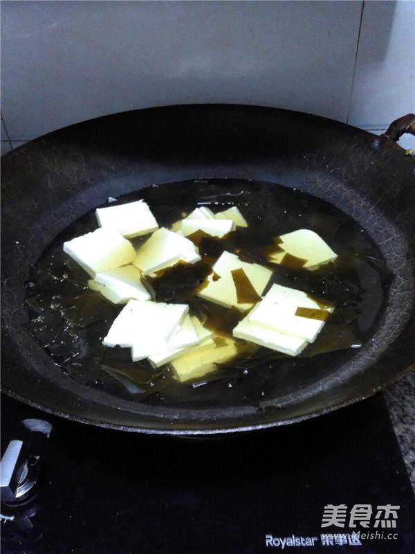 海带豆腐汤怎么吃