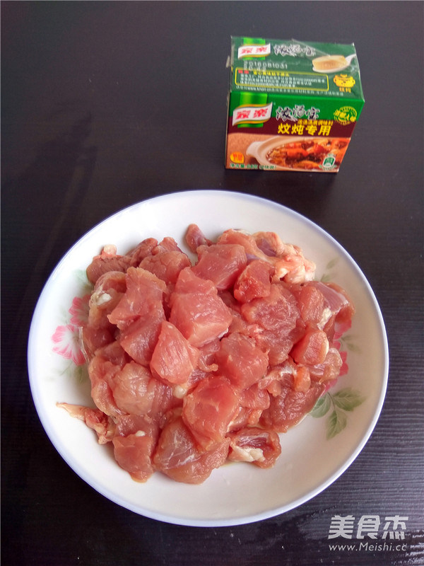 白菜猪肉炖粉条的做法图解
